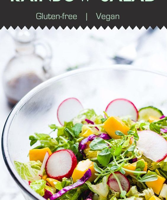 Mango Rainbow Salad